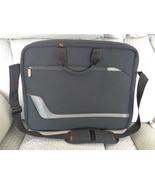 Solo Vector Slim Brief Laptop Messenger Bag Black Computer Case New Padded - $24.99