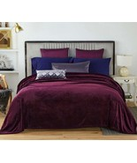 NC Flannel Fleece Blanket, Queen Soft Warm Fluffy Plush Blanket, Lightwe... - $33.99+