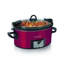 Crock-pot SCCPVL610-R-A 6-Quart Programmable Cook & Carry Oval Slow Cook... - $72.60