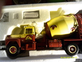 Mack R Cement Mixer Truck Bonanza  First Gear 19-2593-FREE SHIPPING - $50.00
