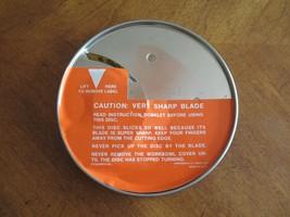 Cuisinart DLC-10C Food Processor Disc DLC-144 4mm Slicing Blade Japan Sh... - $9.99