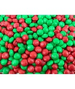 M&M's Milk Chocolate Candy, Green Red Candy Shell Bulk - 3 Pound        ... - $22.30