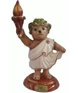 Halcyon Days Enamels Teddy Porcelain Dated 2000 - $85.00