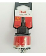Do it 1 1/2 In. Carbon Steel Hole Saw with Mandrel 327115 - $12.99