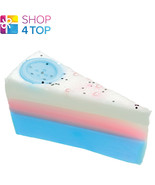 CUTE AS A BUTTON SOAP CAKE SLICE BOMB COSMETICS CLARY SAGE HANDMADE NEW - $6.03