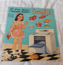 Let's Play House Queen Holden's Emilie Paper Doll - $20.00