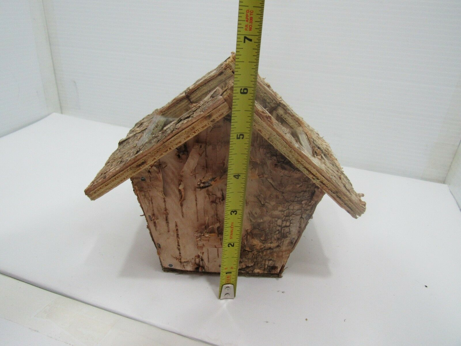 Birch Home Made Birdhouse Planter, House Plants, Garden