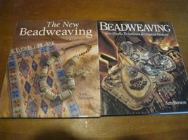 The New Beadweaving : Great Projects Ann Benson 2004 book + ORIGINAL BEA... - $10.66