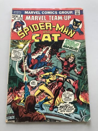 Marvel Team-Up (1972 1st Series) #8 Spider-Man FN Fine