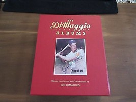 JOE DIMAGGIO YANKEES HOF SIGNED AUTO THE JOE DIMAGGIO ALBUMS SET JSA LOA... - $395.99