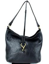 Authentic Ralph Lauren Black Leather Tote Hand Bag Handbag Shoulder bag Purse - $98.01