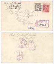 Dec 9 1930 Buffalo NY Ellicott Square Building Registered Cover! Sq Bldg - $5.89