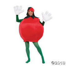 Peter Alan Inc - Tomato Adult Costume - One-Size - Red  - £63.48 GBP
