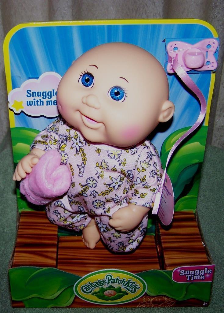 76f6f09652f05 Cabbage Patch Kids SNUGGLE TIME Newborn Baby Doll 9