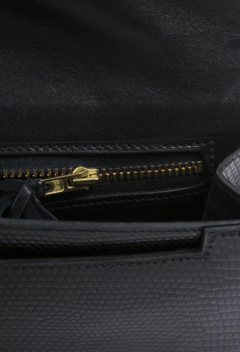 Vintage Hermes Lydie Lizard Skin Shoulder Bag image 5