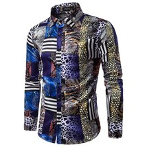 Men's Autumn Casual Shirts Long Sleeve Shirt Praty Shirt  Evening Solid ... - $53.20