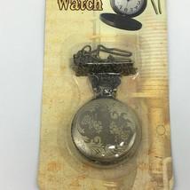 Steampunk Pocket Watch Burnished Gold Tone Spirit Cosplay Fandom - $24.99