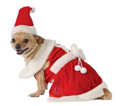 Rubie's Mrs. Claus Dog Costume- Santa Claus Christmas - Size XXL - $12.18
