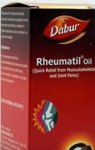 3 X HERBAL OIL FOR PAIN & ACHES JOINT DABUR RHEUMATIL OIL 150 ML/100% +V... - $21.49