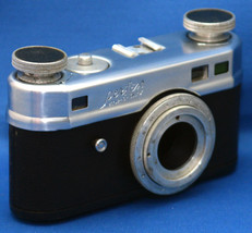 CANDID Camera Perfex 102 one-o-two Vintage 35mm Body Rangefinder Film US... - $62.10