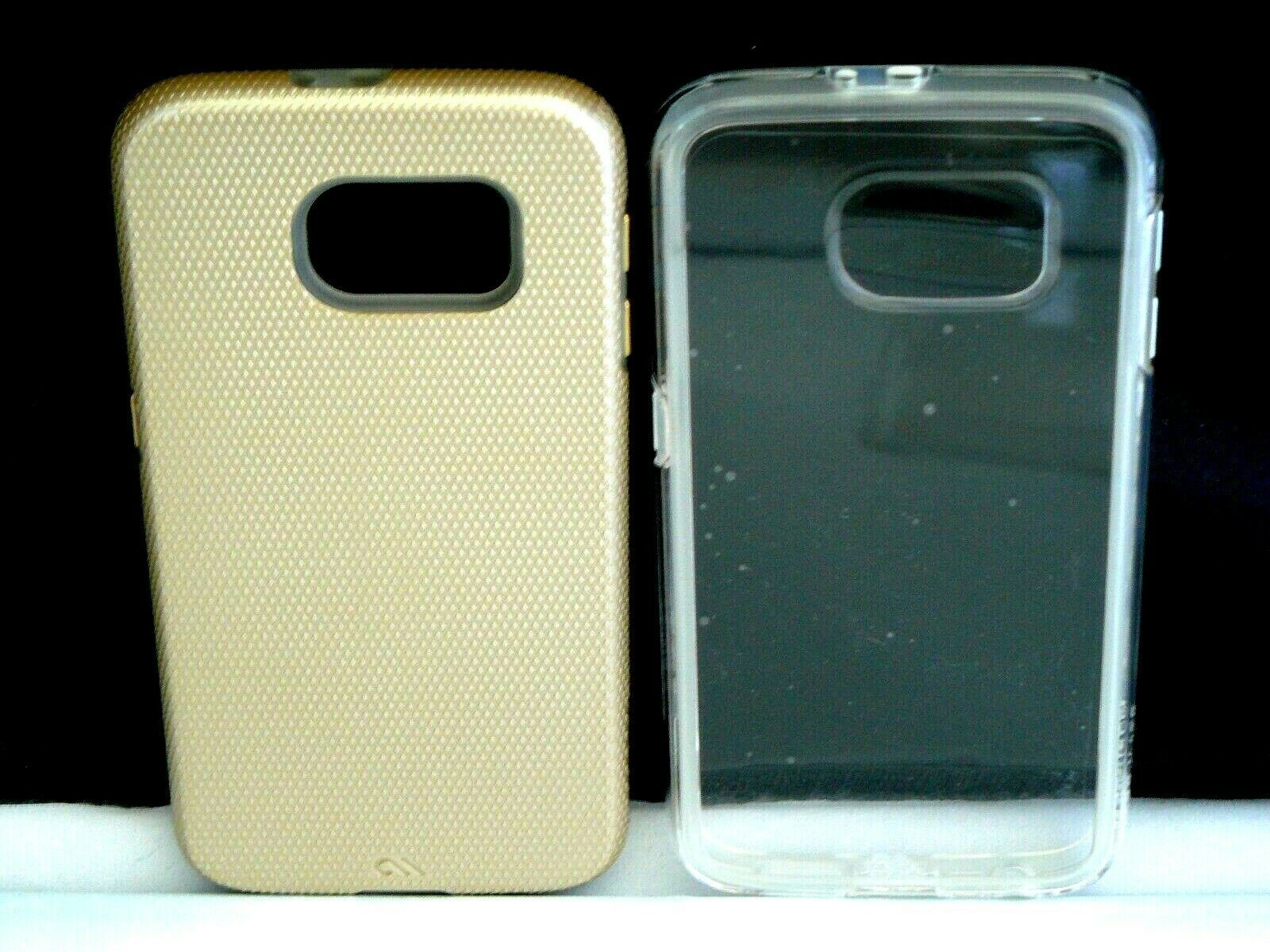 (2 Pack) CASE-MATE Naked Tough and Tough Cases for Samsung Galaxy S6