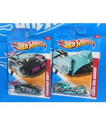 Hot Wheels Lot of 2 Thrill Racers ICE Paradigm Shift & Cloak And Dagger - $3.00