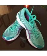 ASICS T6A9N Duomax Ahar Gel Speva Running Shoes Bluegreen Aqua Purple Wo... - $37.99