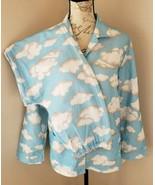 Nick & Nora Size XL Blue & White Clouds Pajama Set Big Kids 16 NWT (BV) - $45.59
