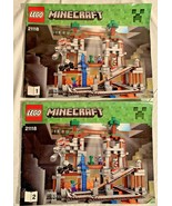 LEGO Minecraft The Mine Set #21118 **MANUALS #1 & #2 ONLY** - $12.86