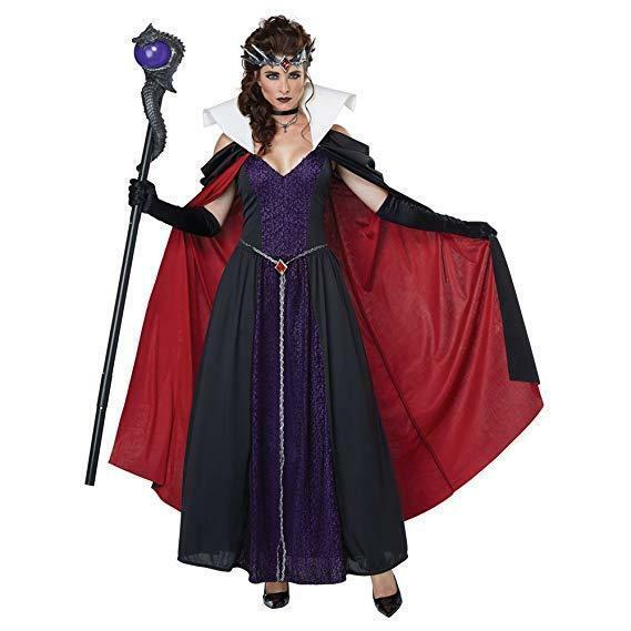 California Disfraces Evil Cuento Reina Adulto Mujer Disfraz Halloween 01430