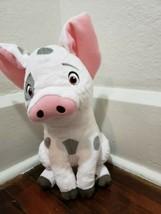 "Disney Store Moana 14"" Pua Pig Plush with Sound and Motion - $19.34"