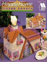 Plastic Canvas Happy Home Tissue Covers Annie's Attic #879007 - $14.95