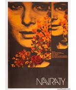 Movie Poster RETURNS Zdenek Ziegler Graphic Designer 1972 Collage Cinema... - $279.00