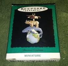 Precious Creations 1995 Miniature Hallmark Keepsake Ornament - $4.95