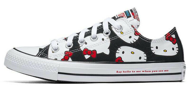 Converse X by Hello Kitty Limited Edition Sneakers Unisex Shoes Men's Women's image 15