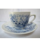 Wedgwood - Made in England - Cup and Saucer - Countryside - $12.00