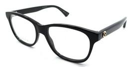 Gucci Eyeglasses Frames GG0166O 001 52-17-140 Black Made in Italy - $245.00