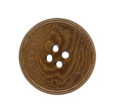 Ralph Lauren plastic Brown Coffee Swirl Color Replacement Pocket button ... - $4.90