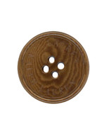 Ralph Lauren plastic Brown Coffee Swirl Color Replacement Pocket button ... - $4.80