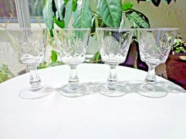 Set of 4 Seneca Ramona Small Liquor Cocktail Glasses c  1949 - 1976 - $15.84