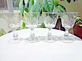 Set of 4 Seneca Ramona Small Liquor Cocktail Glasses c  1949 - 1976 - $23.76