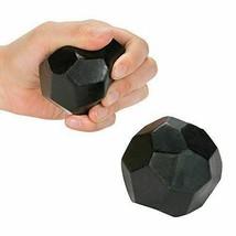 12 Foam Christmas Lump of Coal Stress Ball Toys - $29.21