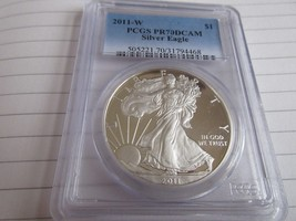 2011-W , Silver Eagle , PCGS , PR70DCAM - $173.25