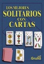 Los mejores solitarios con cartas / Best solitaire card (Spanish Edition... - $14.80