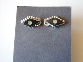ZUNI Sterling Silver Jet Earrings - $10.40