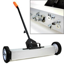 "24"" Rolling Magnetic Sweeper Magnet Pick Up Tool Screws Parts Finder Lon... - $99.50"