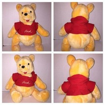 "VTG WINNIE THE POOH BEAR Disneyland Walt Disney World 80s JOINTS 18"" Plu... - $51.65"
