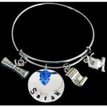 Graduation Bracelet-Expandable Bracelet Diploma Charm Bracelet Graduation Cap - $18.50