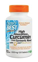 Doctor's Best Curcumin From Turmeric Root  with C3 Complex & BioPerine, ... - $79.19