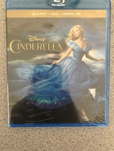 Cinderella [Blu-ray] DVD No Digital 2 Disc Set  - $6.77
